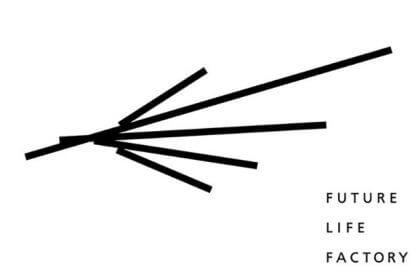 たき工房が開発した、パナソニックのデザインセンター内に新設されたデザインスタジオ「FUTURE LIFE FACTORY」のロゴ開発事例です。