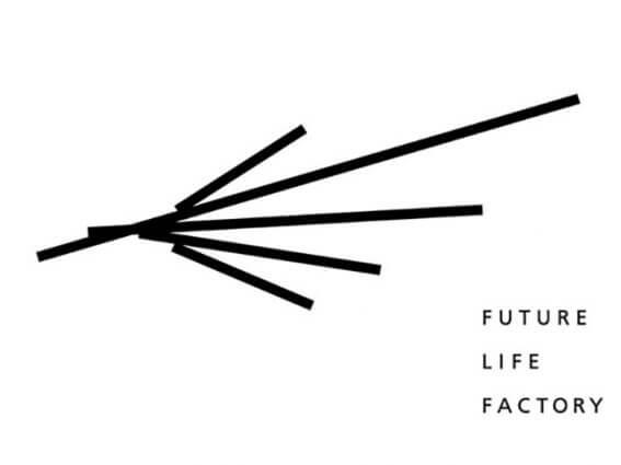 「FUTURE LIFE FACTORY」ロゴ、ブランドブック