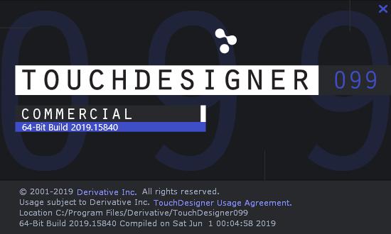 カナダのDerivative社が開発しているアプリケーション。 映像、音楽、デジタルアートに関するシステムを簡単にプログラム構築することができるオーディオビジュアルアーツ。