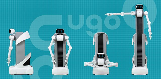 「ugo(ユーゴ―)」ロボットサービス立ち上げのトータルデザイン