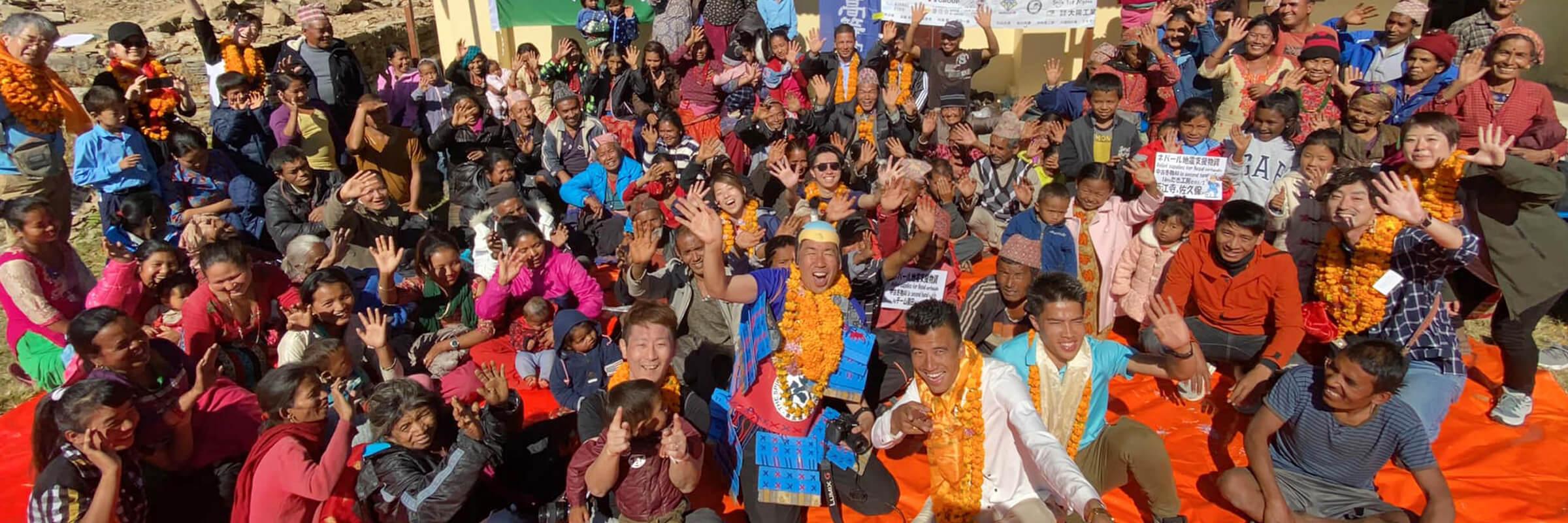 第六回クレヨンプロジェクト in ネパール #1 #2
