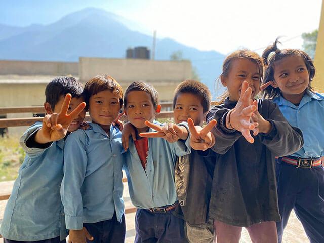 SDL学校の子どもたち